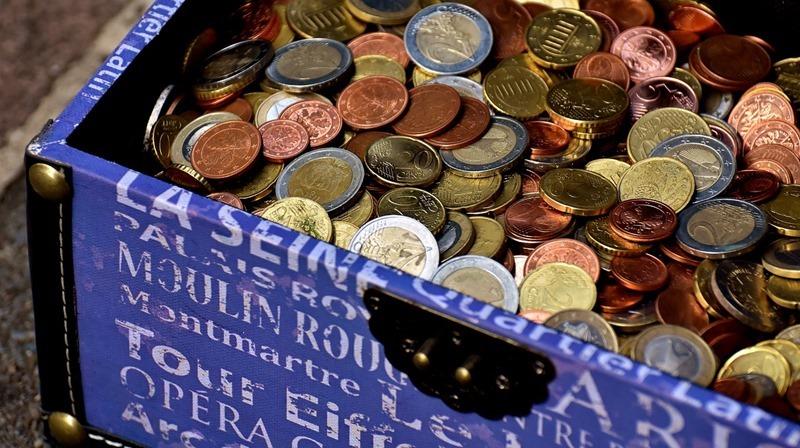 一度に大量の硬貨を紙幣に替える方法
