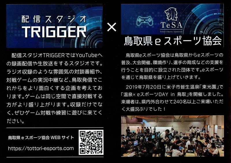 鳥取市リメイクeスポーツ