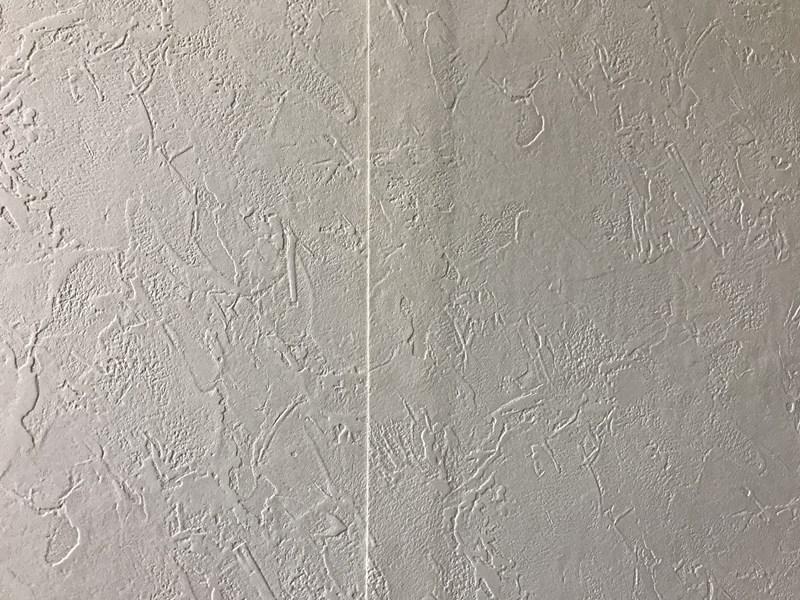 クロス貼り_壁紙重なり処理