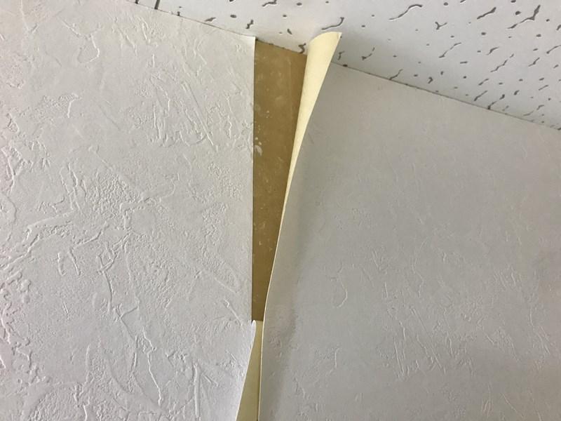 クロス貼り_壁紙重なり処理2